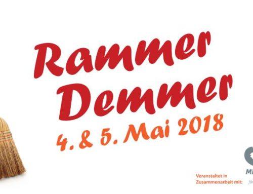 Rammer Demmer am 4. und 5. Mai 2018