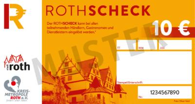 Abbildung des Roth-Schecks