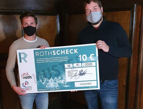 Sonderedition der ROTHSCHECKs zur Unterstützung Rother Betriebe