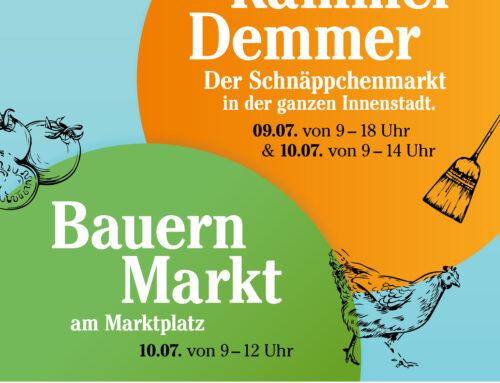 """""""Rammer Demmer"""" – Foodtrucks und jede Menge Schnäppchen"""